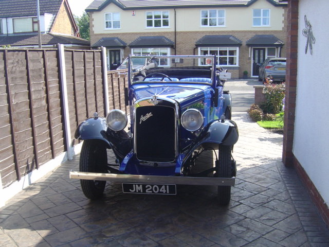 1935 AUSTIN 12/4 HARROW. For Sale (picture 3 of 6)