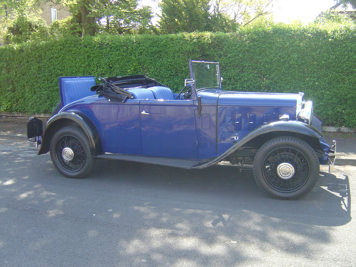 1935 AUSTIN 12/4 HARROW. For Sale (picture 5 of 6)