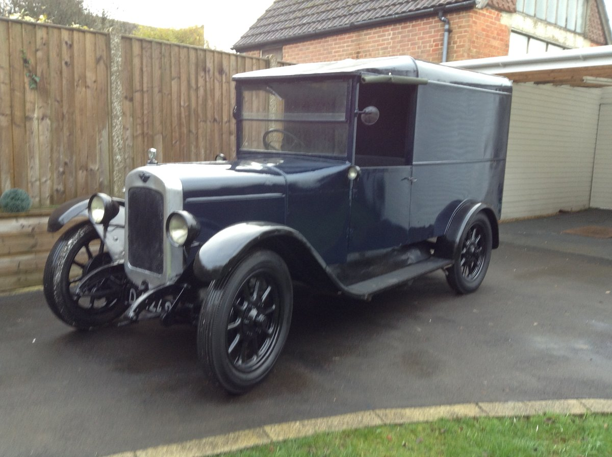 1929 Austin 12/4 Van For Sale (picture 1 of 6)