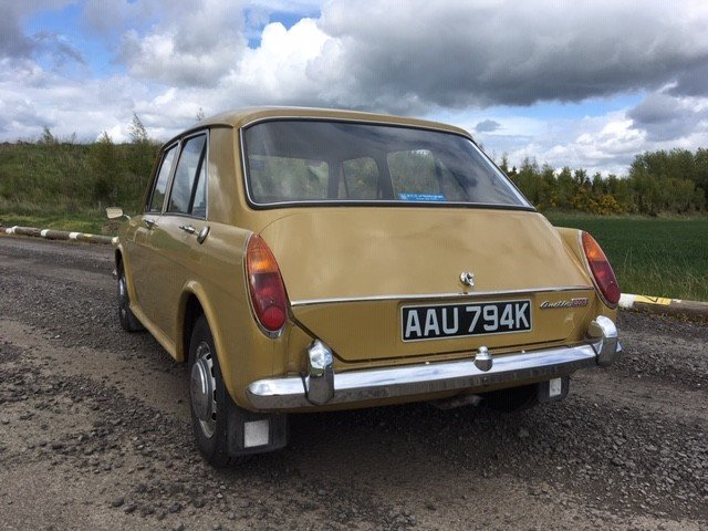1971 Austin 1300 at Morris Leslie Auction 25th May SOLD by Auction (picture 3 of 5)