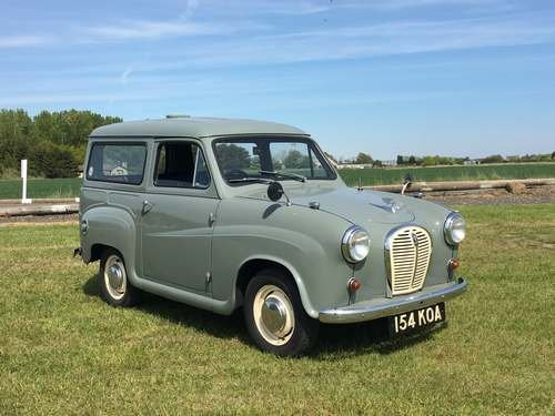 1963 Austin A35 at Morris Leslie Classic Auction 25th May SOLD by Auction (picture 1 of 6)