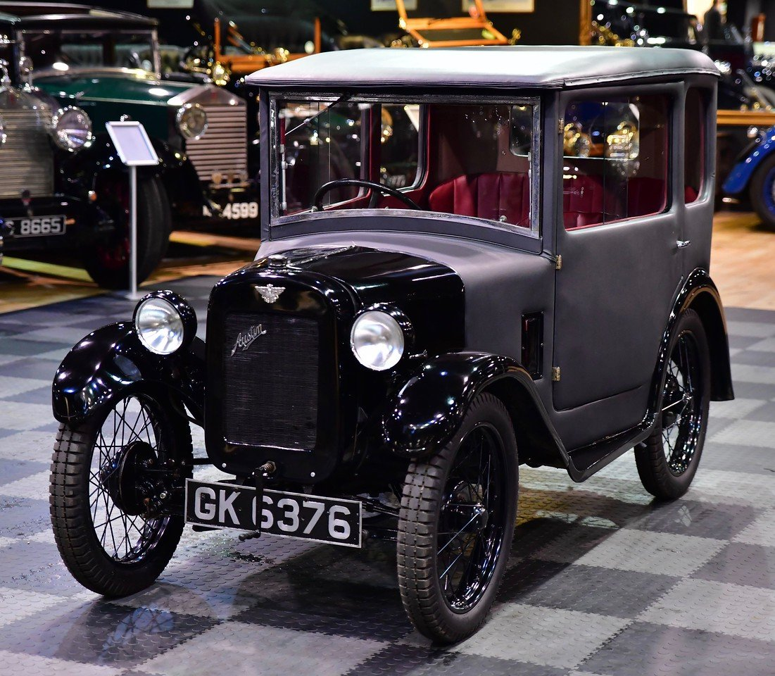 1930 Austin 7 RK Fabric Saloon (Seven) For Sale (picture 1 of 6)