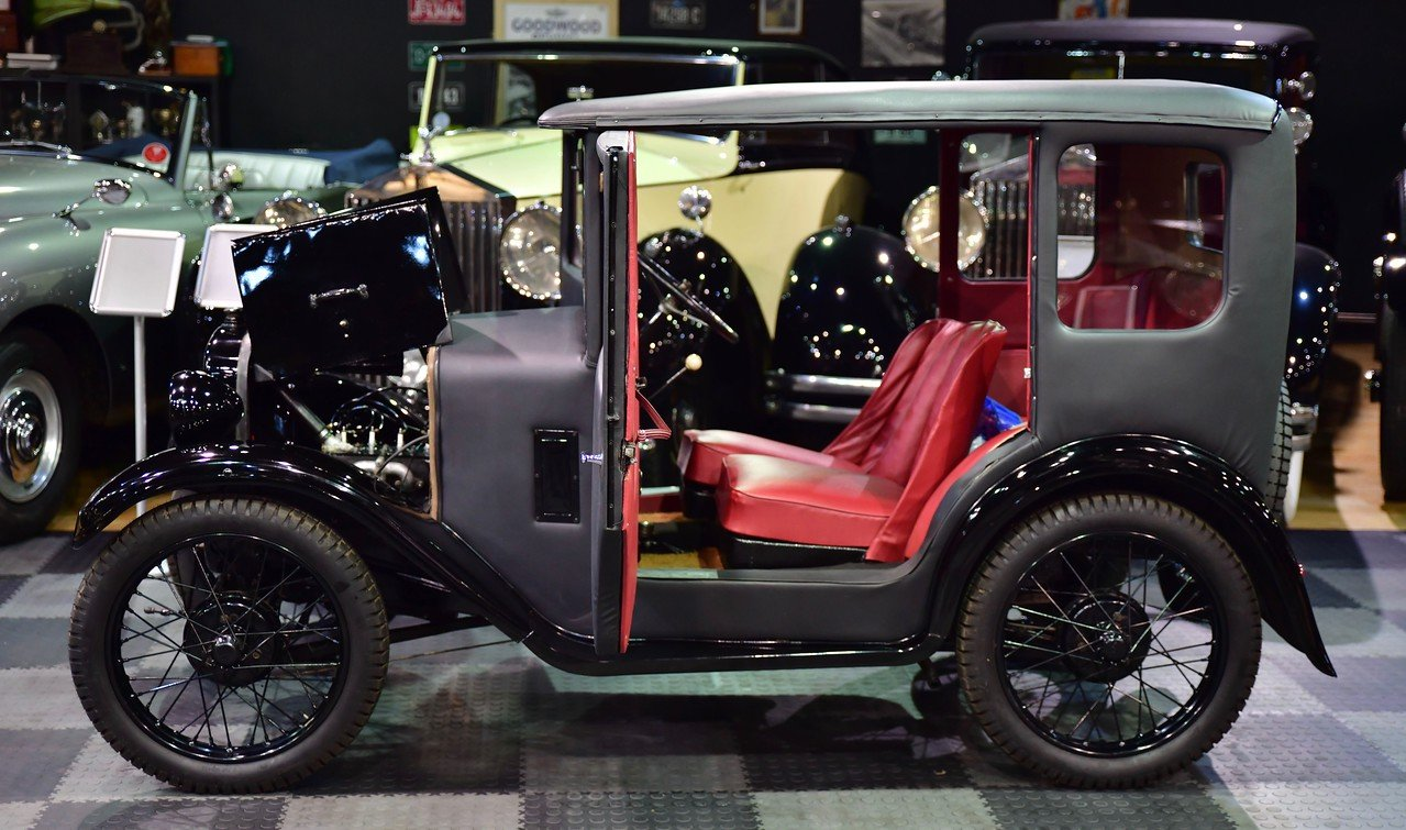 1930 Austin 7 RK Fabric Saloon (Seven) SOLD (picture 5 of 6)