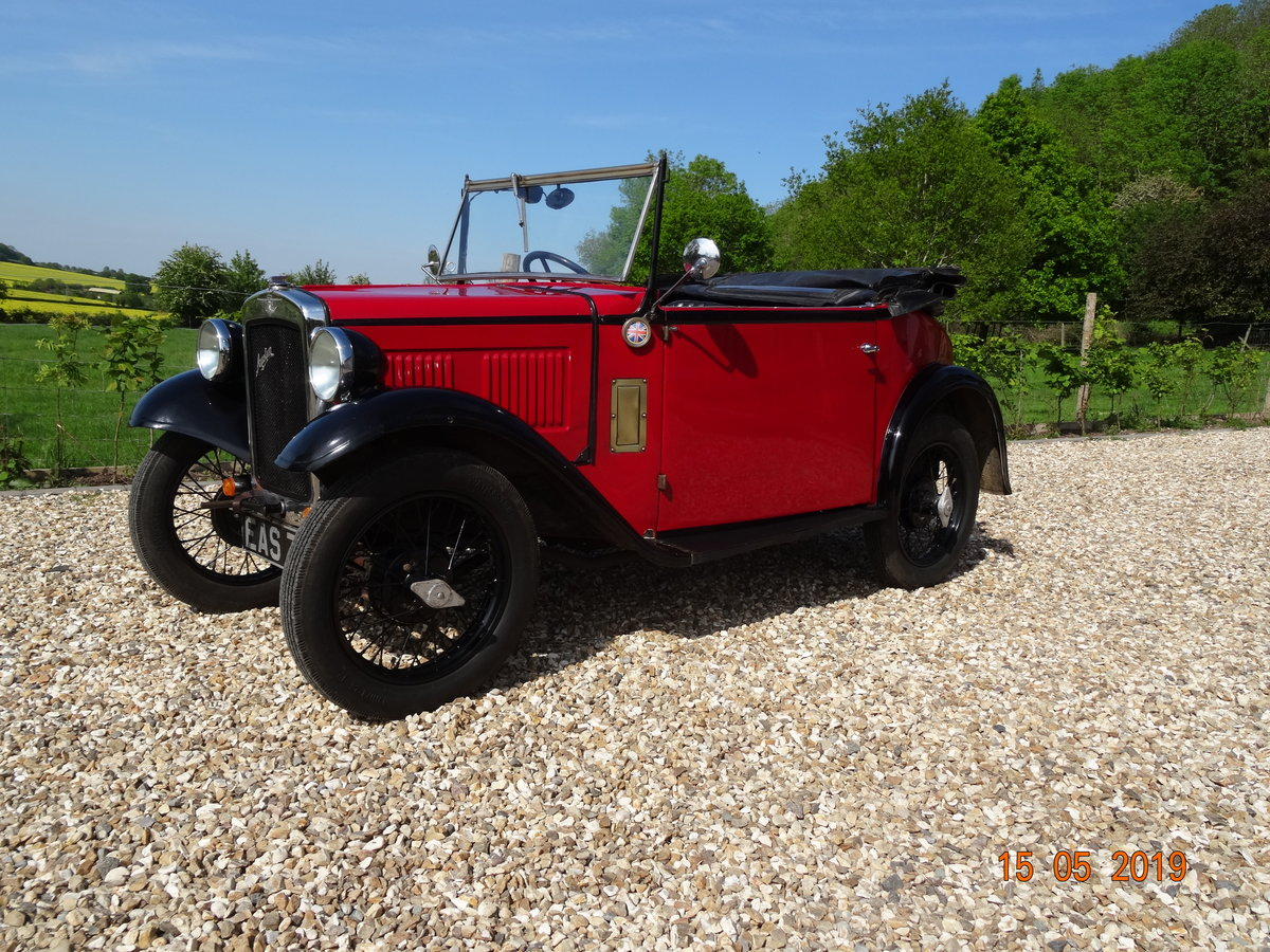 Austin 7 1933 PD Tourer SOLD (picture 1 of 6)