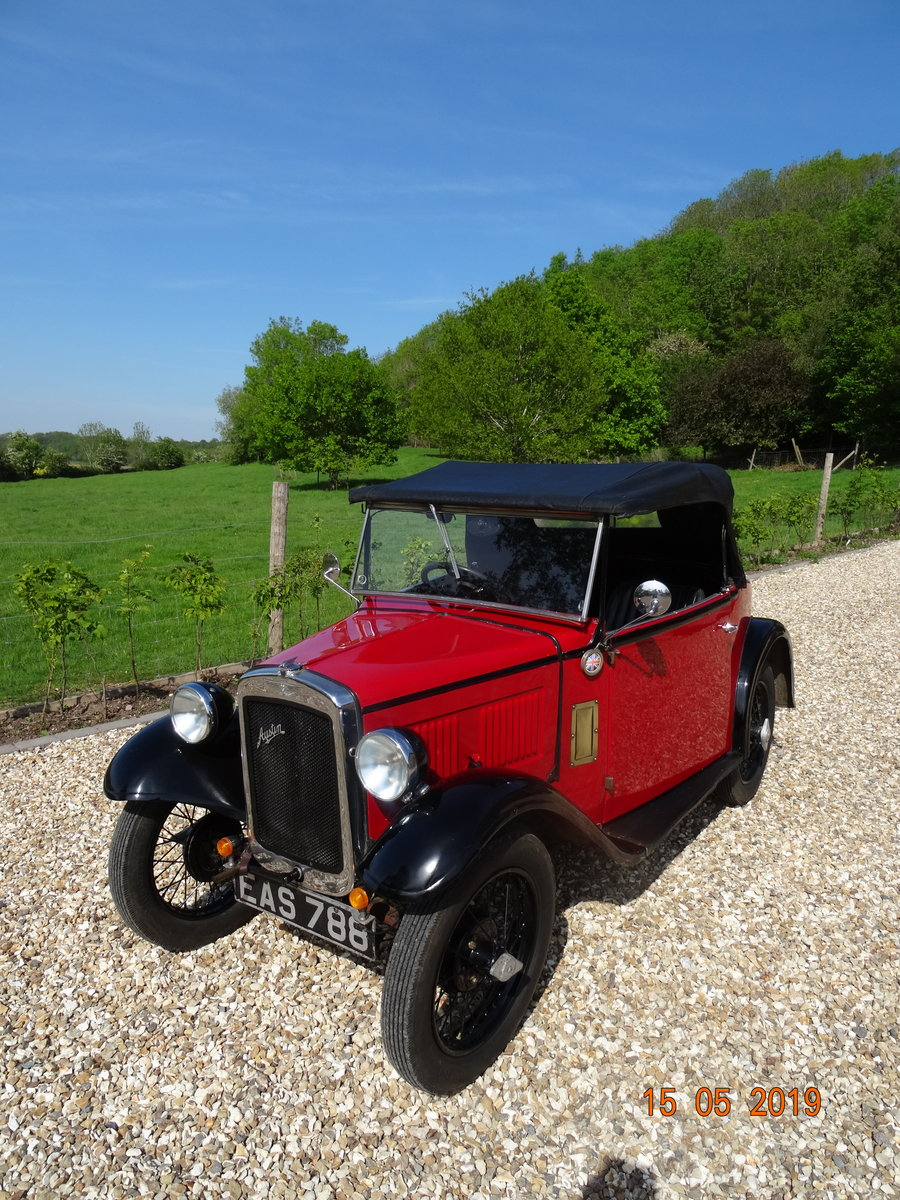 Austin 7 1933 PD Tourer SOLD (picture 2 of 6)