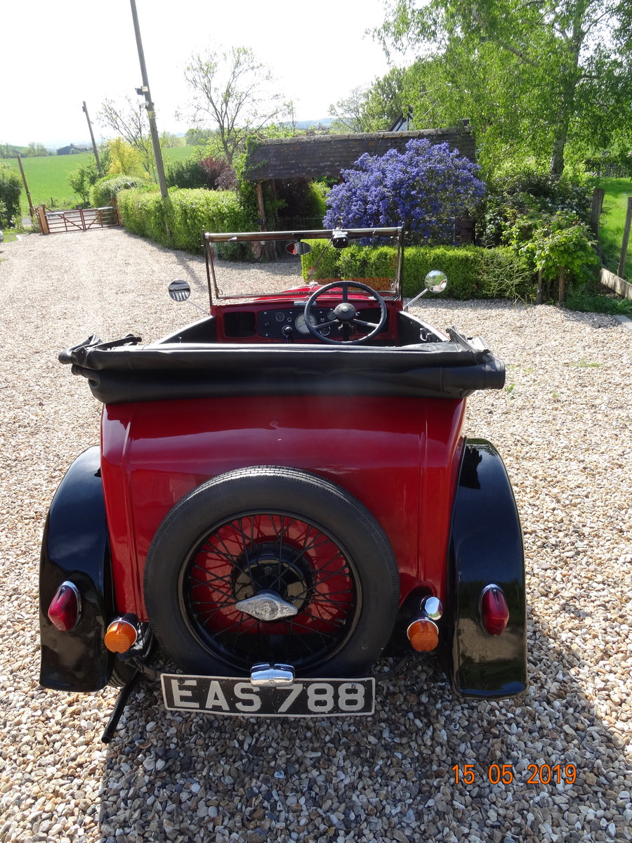 Austin 7 1933 PD Tourer For Sale (picture 6 of 6)