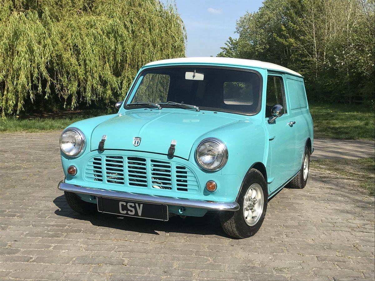 1973 1974 Austin Mini van For Sale (picture 2 of 6)