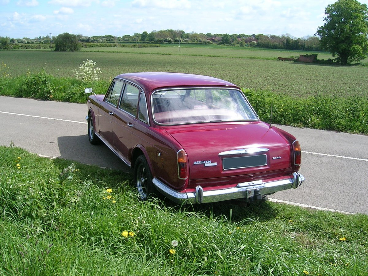 1971 Rare Austin 3 Litre Automatic Historic Vehicle For Sale (picture 4 of 6)