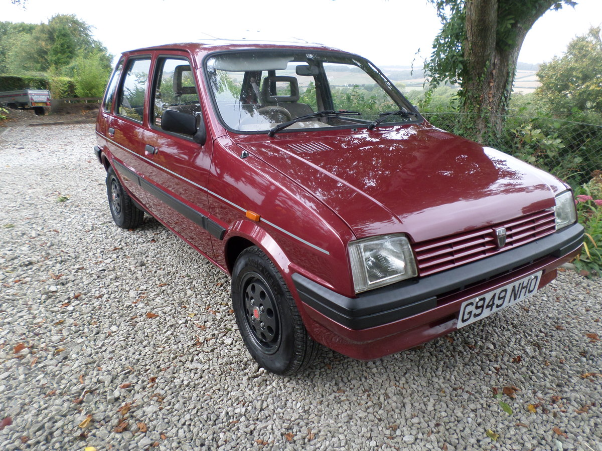 1989 Austin Metro Clubman 1.3L,13,215 mls. alloy wheels For Sale (picture 1 of 6)