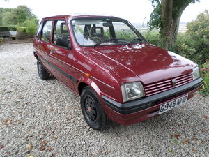 1989 Austin Metro Clubman 1.3L,13,215 mls. alloy wheels For Sale