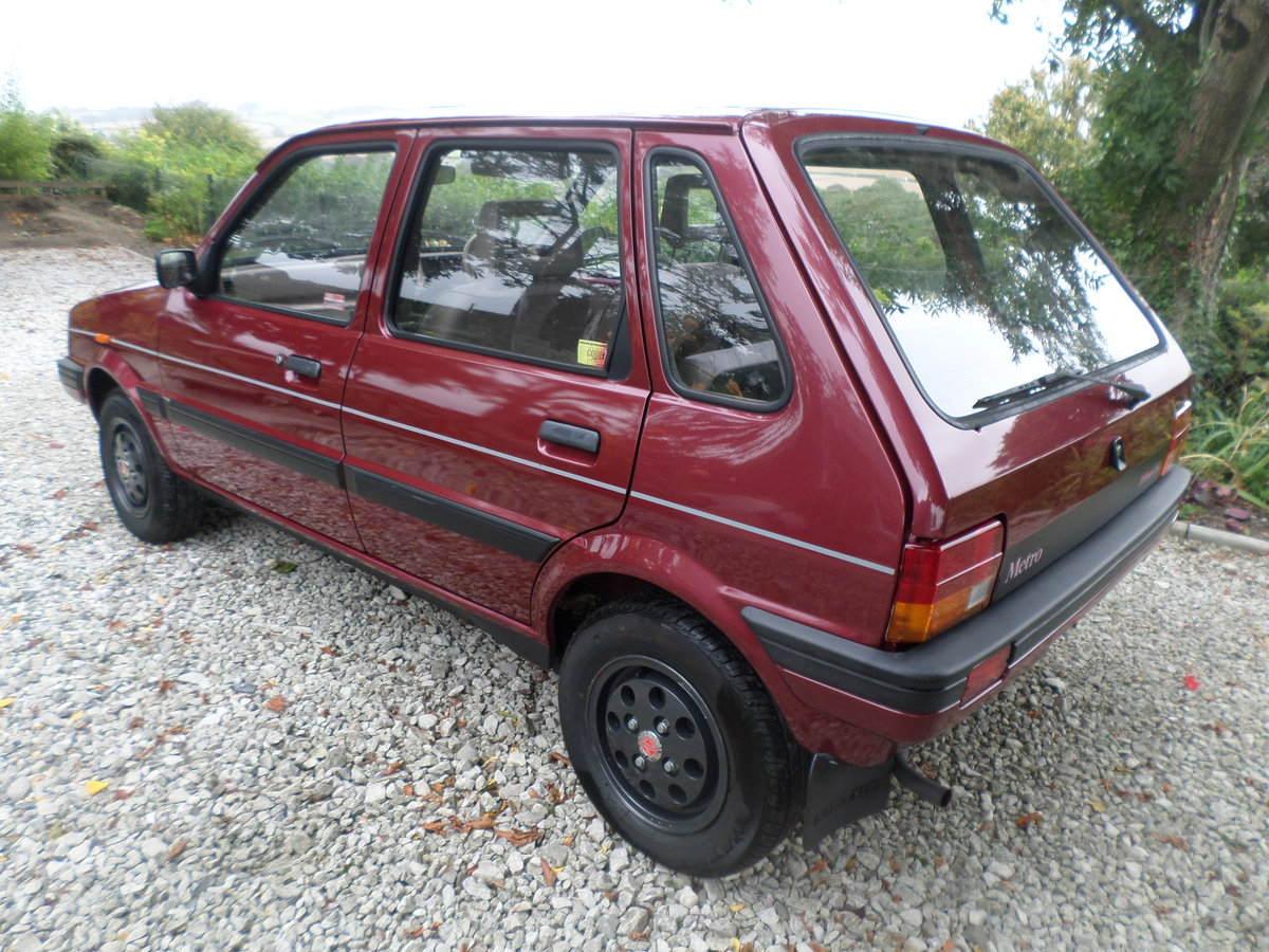 1989 Austin Metro Clubman 1.3L,13,215 mls. alloy wheels For Sale (picture 2 of 6)