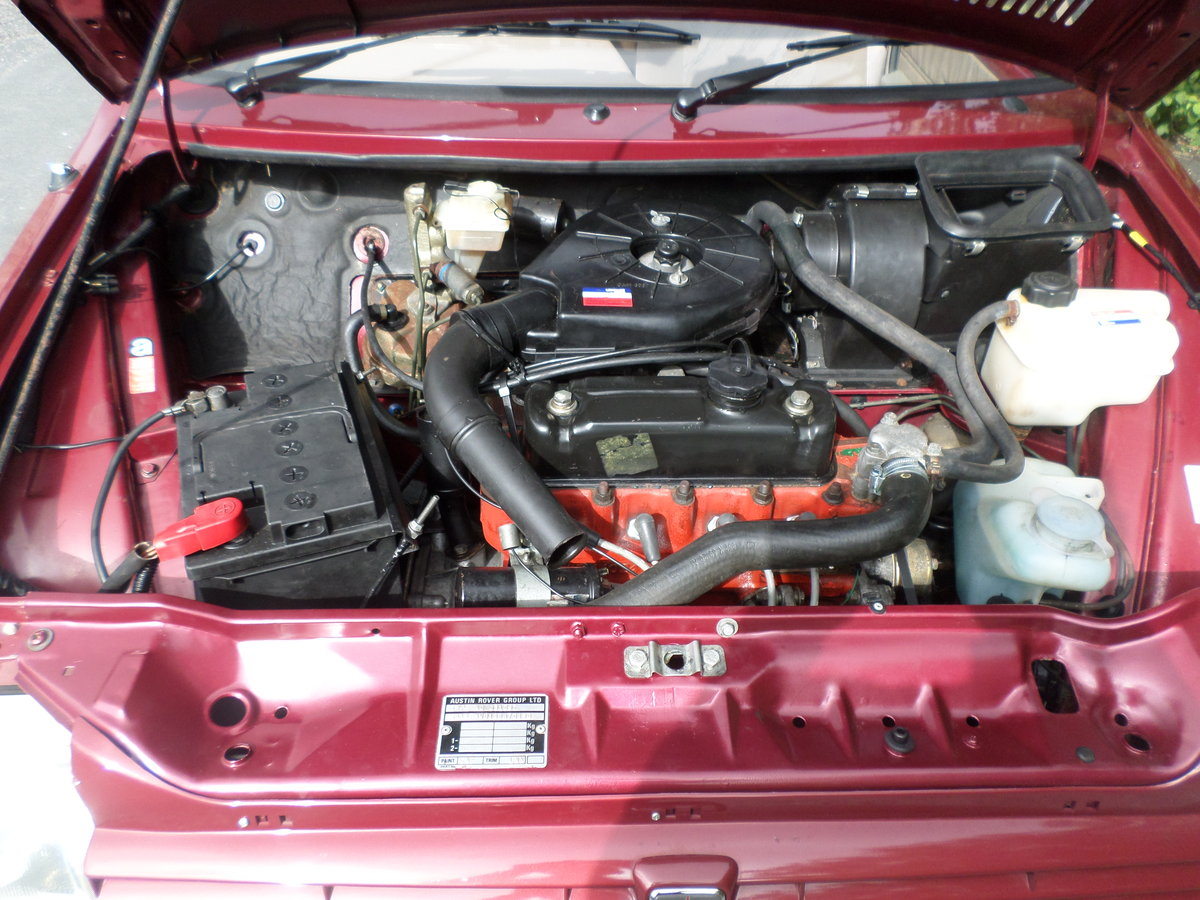 1989 Austin Metro Clubman 1.3L,13,215 mls. alloy wheels For Sale (picture 3 of 6)