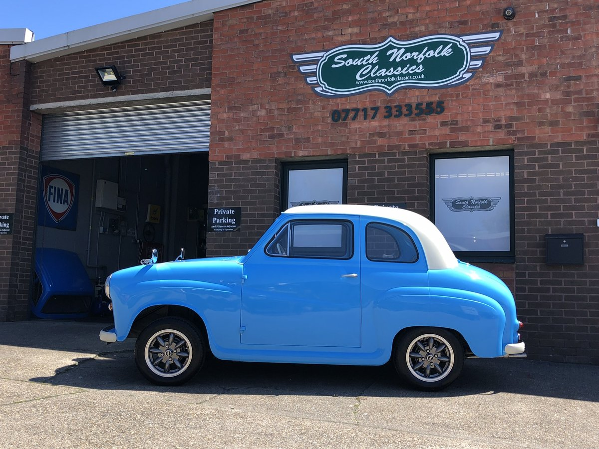 1954 Austin A30, modified, nut and bolt restoration  For Sale (picture 2 of 6)