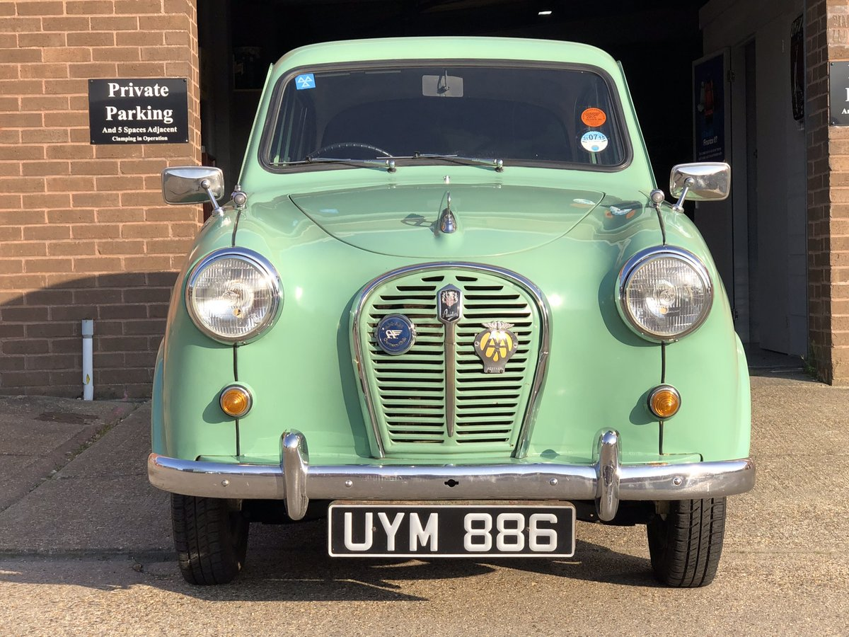 1958 Austin A35, Disc brakes, 33000 miles with history  SOLD (picture 1 of 6)