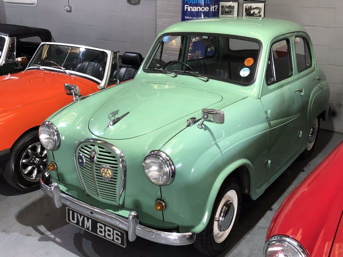 1958 Austin A35, Disc brakes, 33000 miles with history  SOLD (picture 2 of 6)