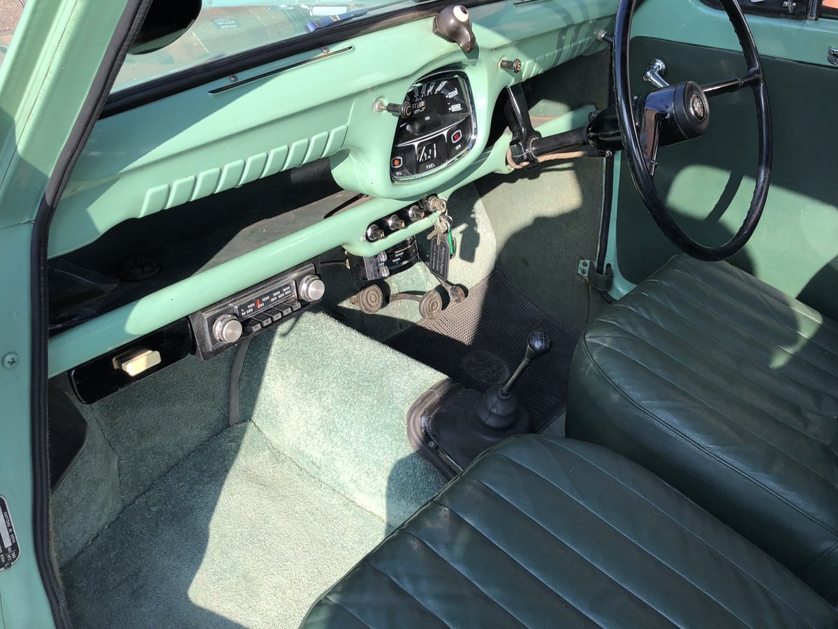 1958 Austin A35, Disc brakes, 33000 miles with history  For Sale (picture 3 of 6)