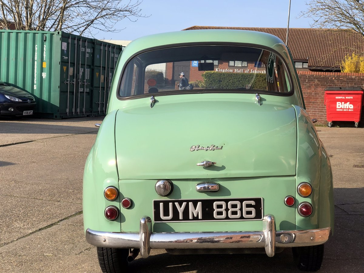 1958 Austin A35, Disc brakes, 33000 miles with history  For Sale (picture 5 of 6)