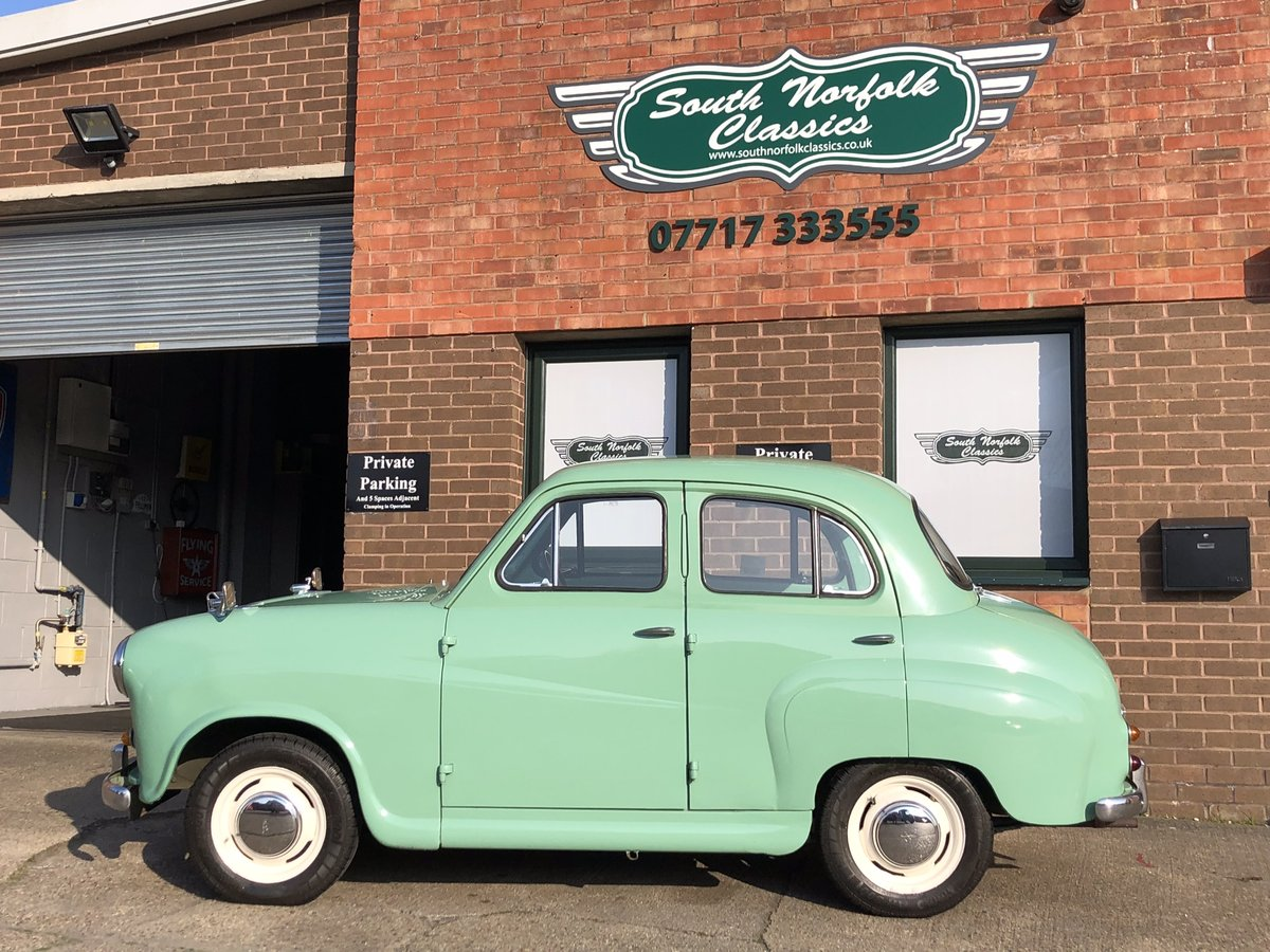 1958 Austin A35, Disc brakes, 33000 miles with history  For Sale (picture 6 of 6)