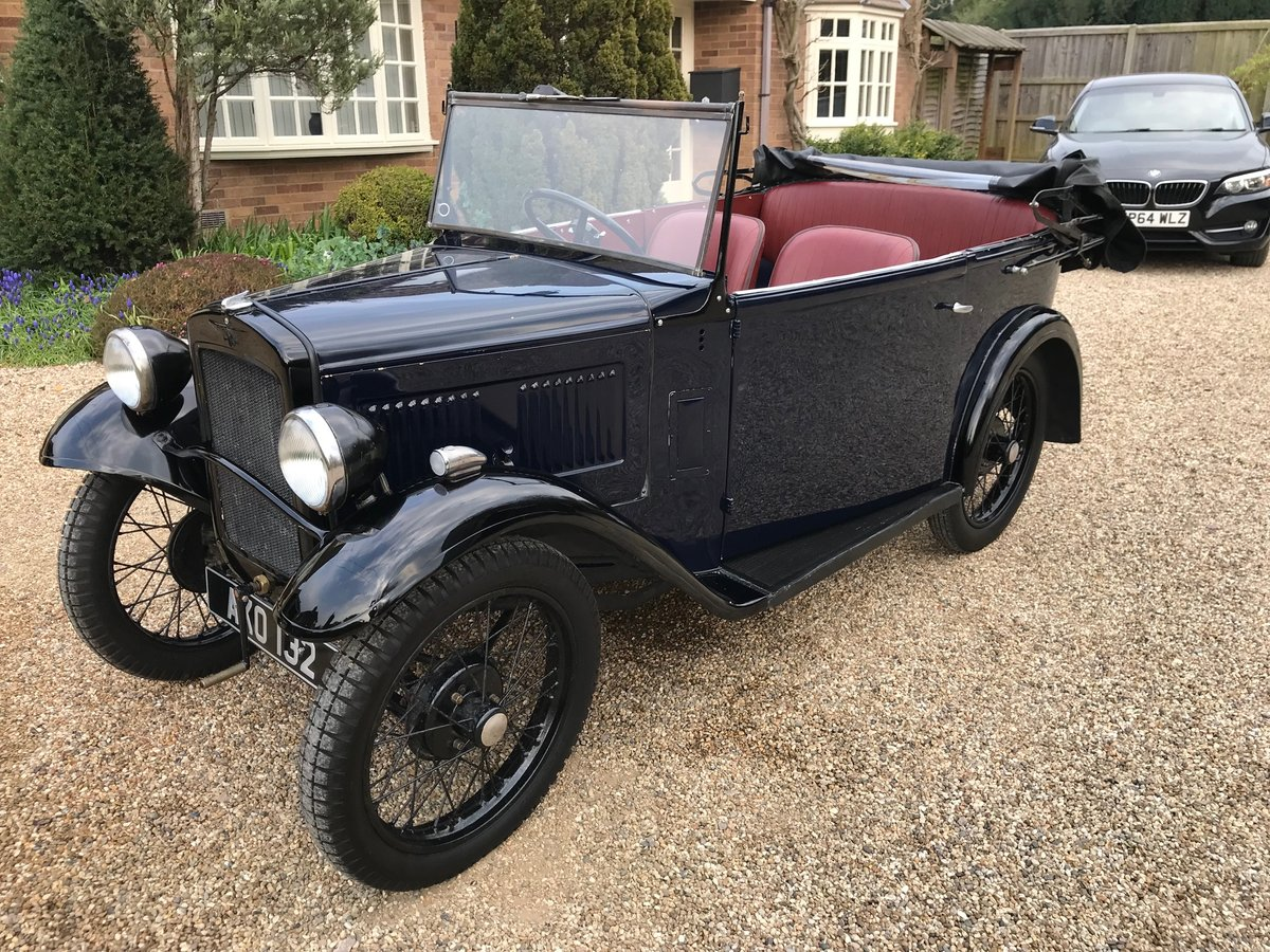 1932 Austin Seven Tourer SOLD (picture 1 of 6)