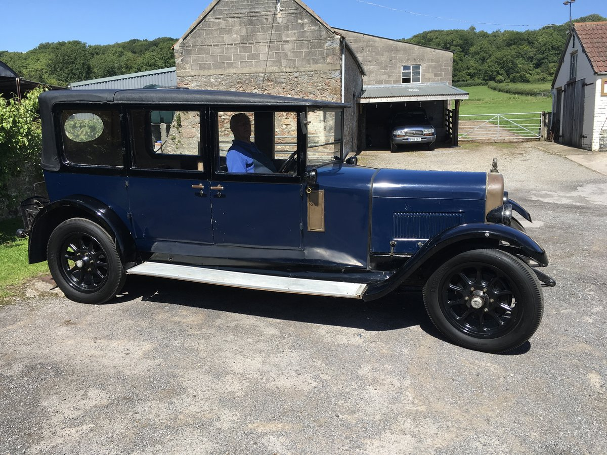 1927 Austin  20/4  seven seat  laundaulette For Sale (picture 2 of 6)