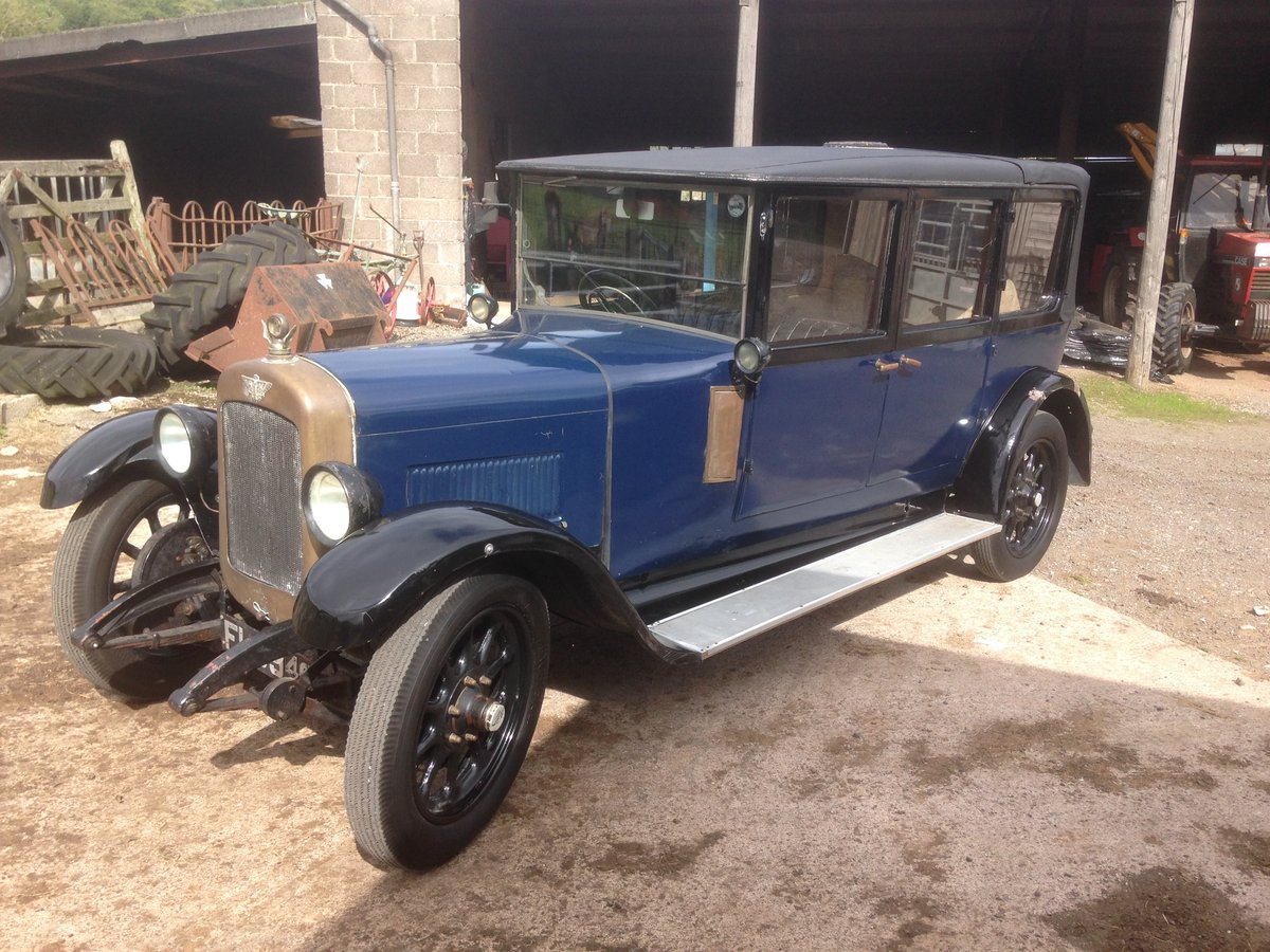 1927 Austin  20/4  seven seat  laundaulette For Sale (picture 3 of 6)