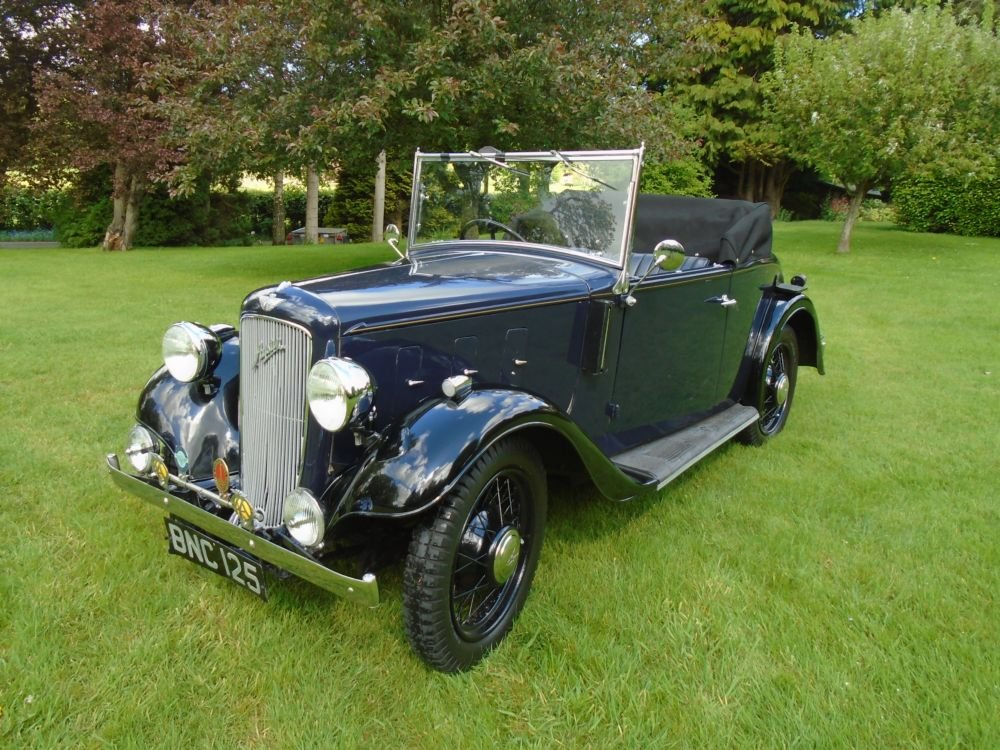 1935 Austin 10/4 Clifton with Dickey Seat SOLD (picture 1 of 6)