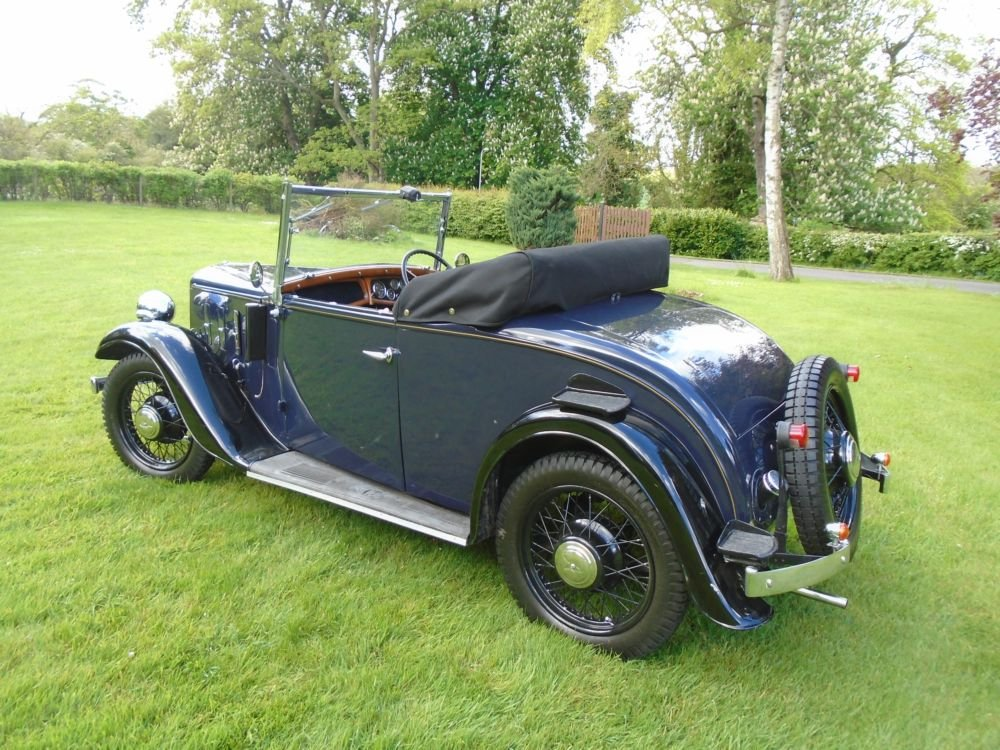 1935 Austin 10/4 Clifton with Dickey Seat SOLD (picture 2 of 6)