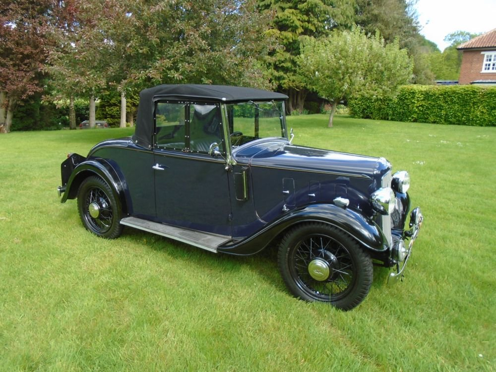 1935 Austin 10/4 Clifton with Dickey Seat SOLD (picture 3 of 6)