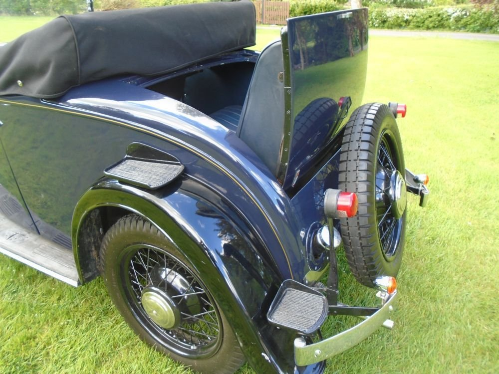 1935 Austin 10/4 Clifton with Dickey Seat SOLD (picture 5 of 6)