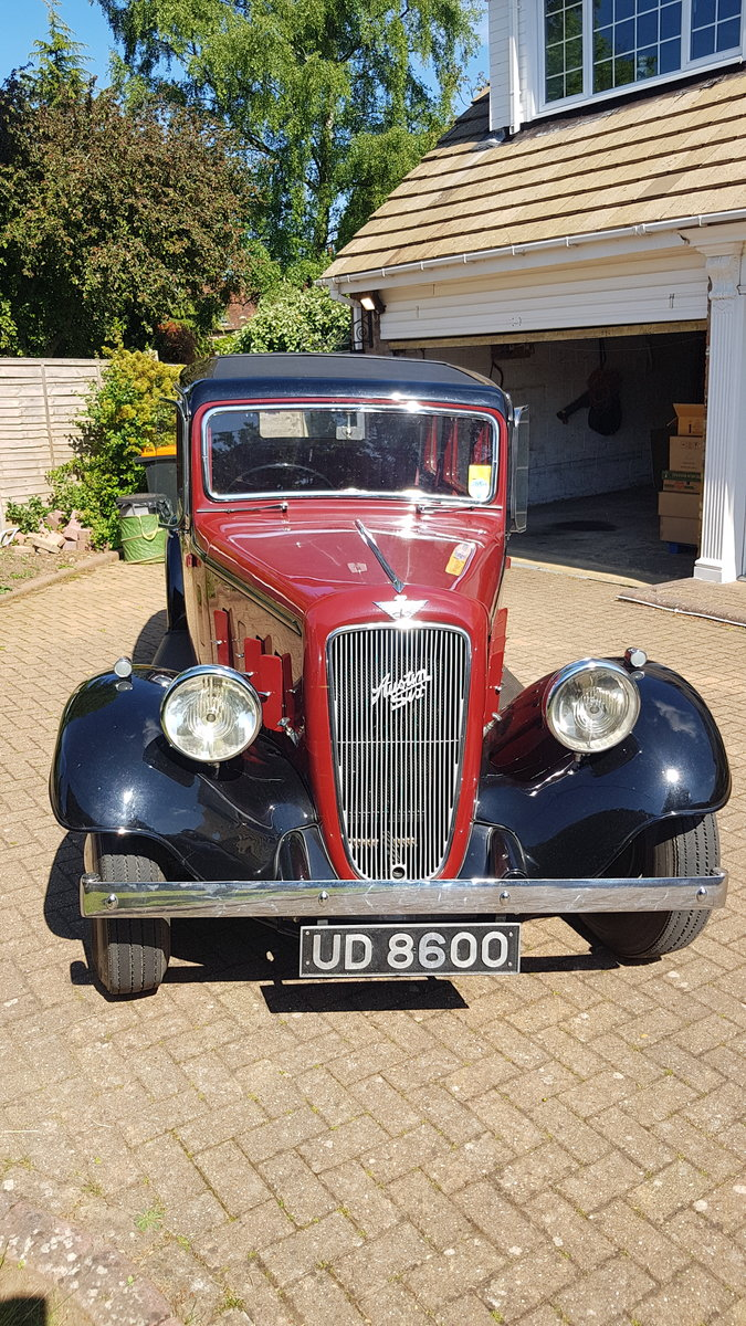 AUSTIN 1936 YORK SALOON SOLD (picture 1 of 6)