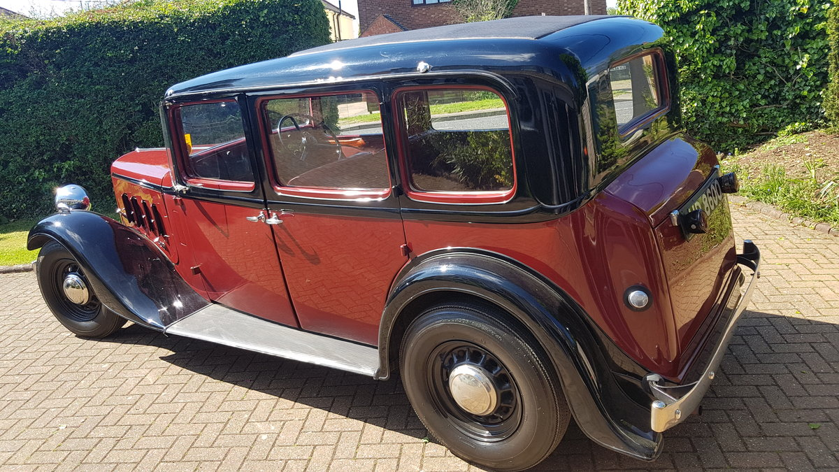 AUSTIN 1936 YORK SALOON SOLD (picture 5 of 6)