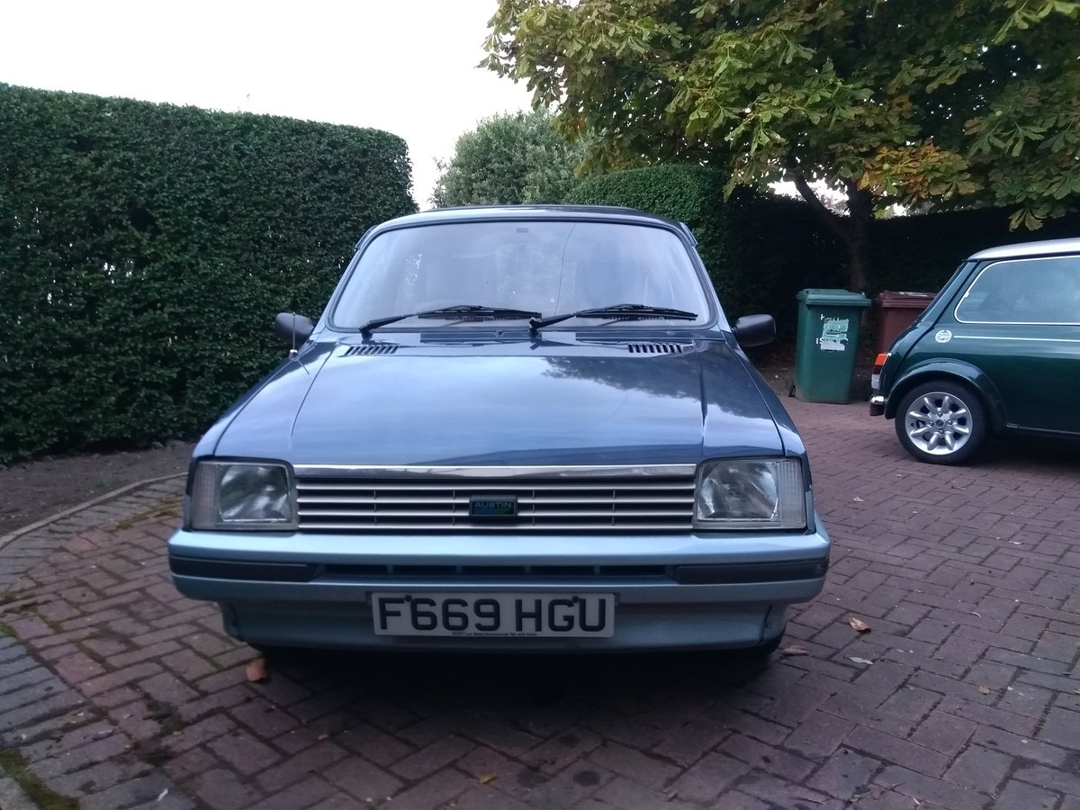 1988 Metro Vanden Plas auto 30,000 Full MOT & serviced For Sale (picture 1 of 6)