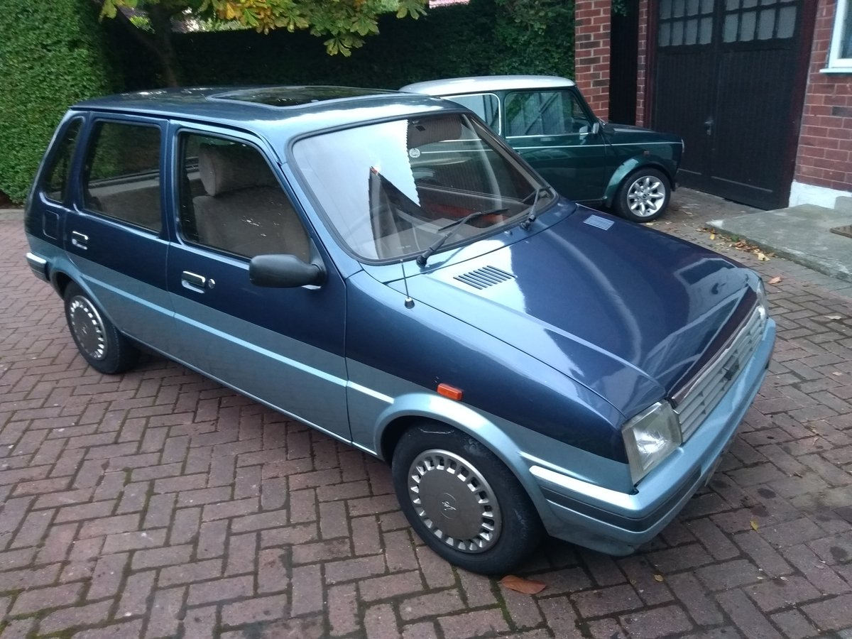 1988 Metro Vanden Plas auto 30,000 Full MOT & serviced For Sale (picture 2 of 6)