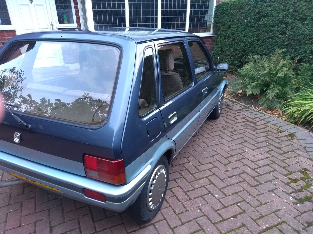 1988 Metro Vanden Plas auto 30,000 Full MOT & serviced For Sale (picture 3 of 6)