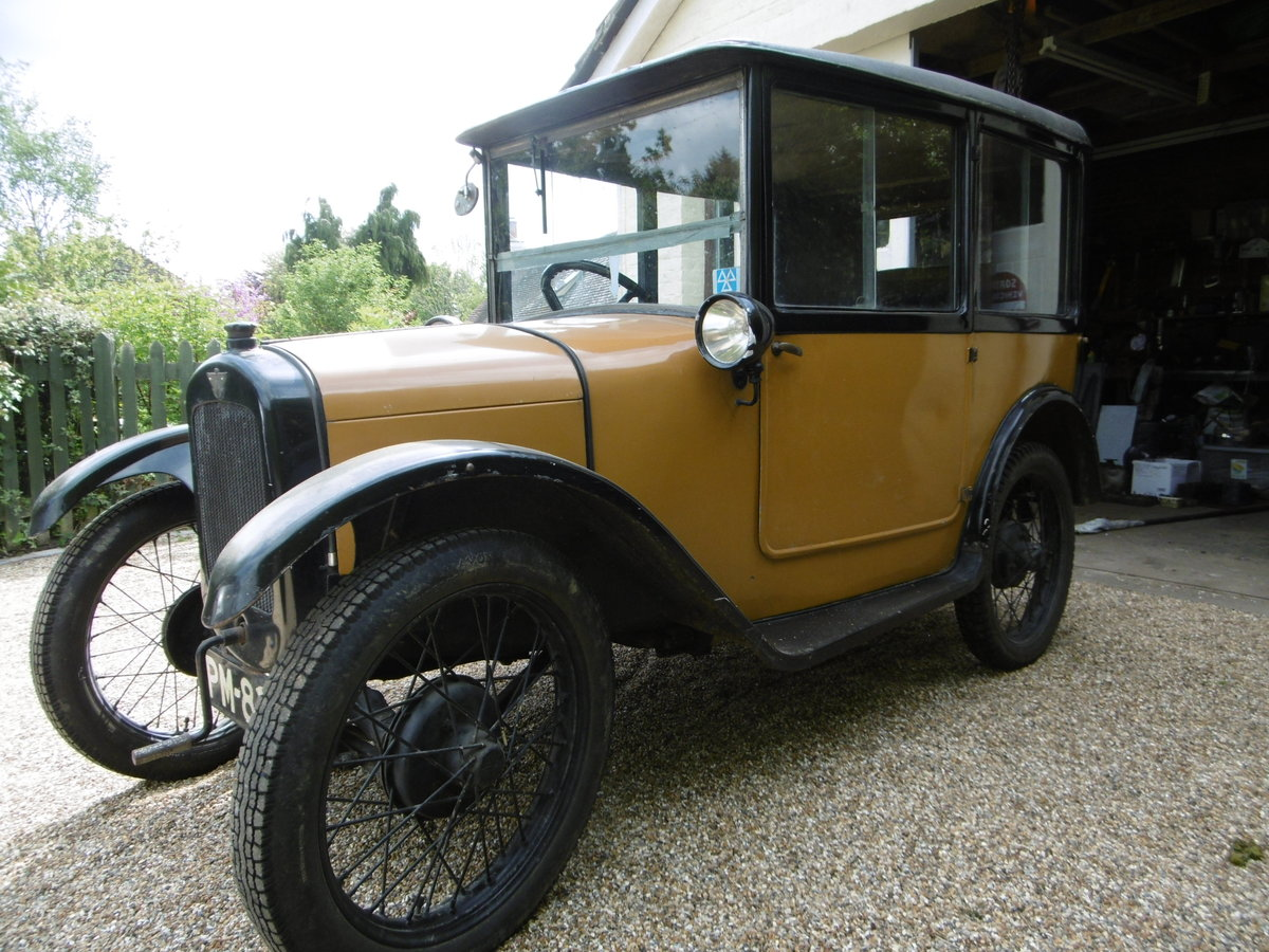 1926 Austin 7 Saloon 1927 For Sale (picture 1 of 4)