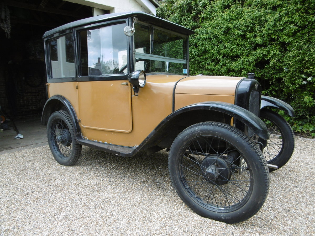 1926 Austin 7 Saloon 1927 For Sale (picture 4 of 4)