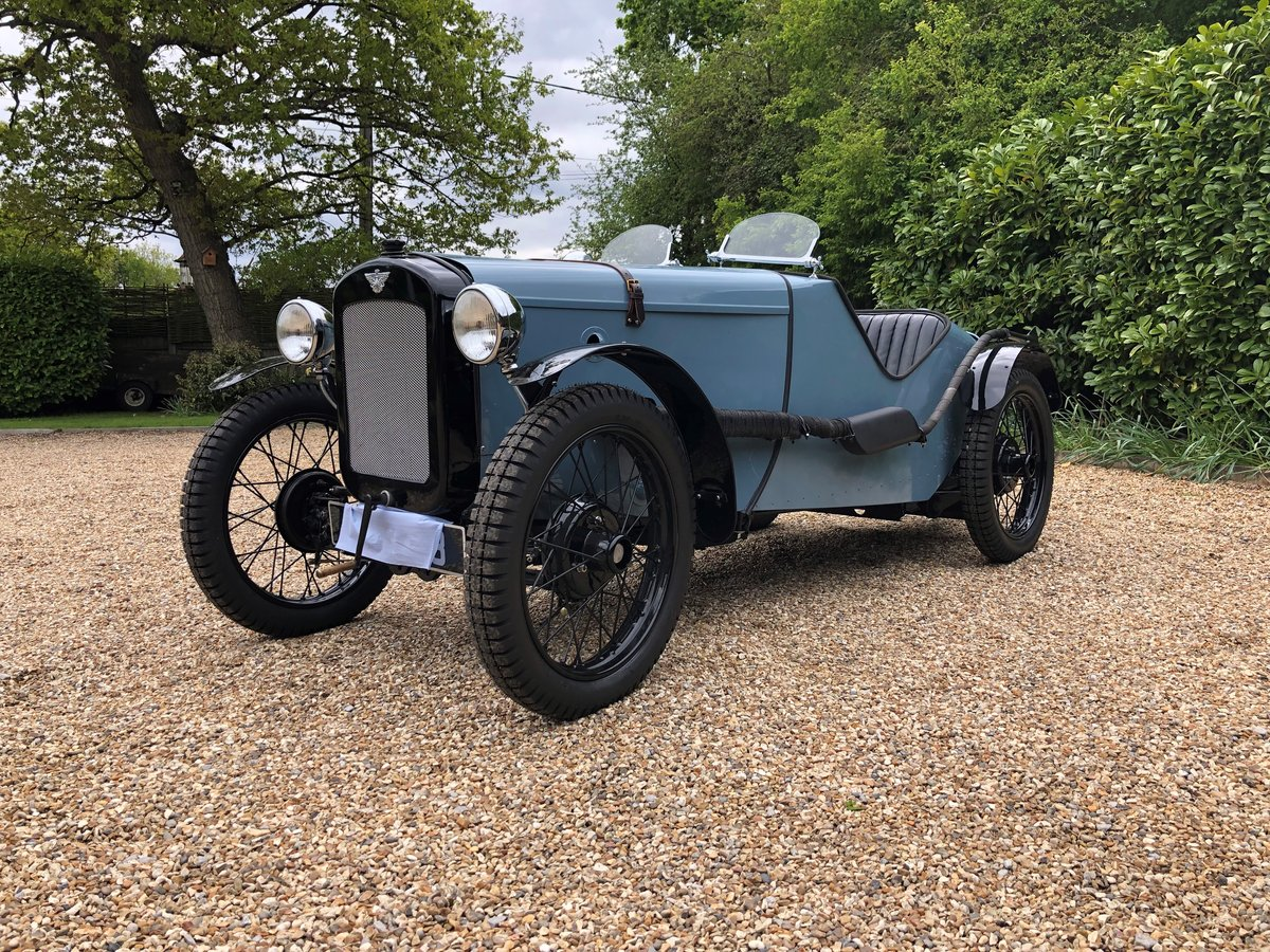 1934 Austin 7 Ulster Rep (Rod Yates Body) SOLD (picture 1 of 6)