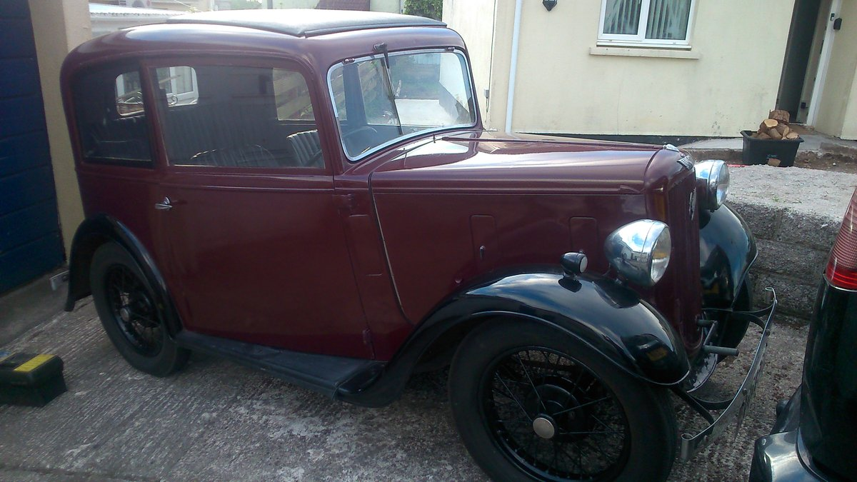 1935 AUSTIN 7 SEVEN MK 1 RUBY SALOON For Sale (picture 2 of 6)