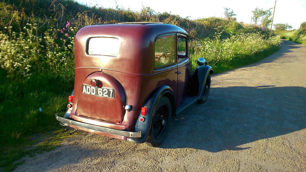 1935 AUSTIN 7 SEVEN MK 1 RUBY SALOON For Sale (picture 4 of 6)