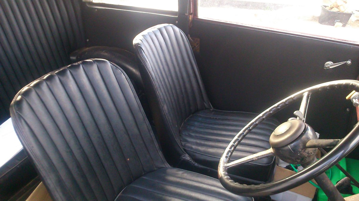 1935 AUSTIN 7 SEVEN MK 1 RUBY SALOON For Sale (picture 5 of 6)
