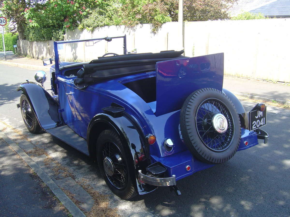 1935 AUSTIN 12/4 HARROW. For Sale (picture 1 of 6)