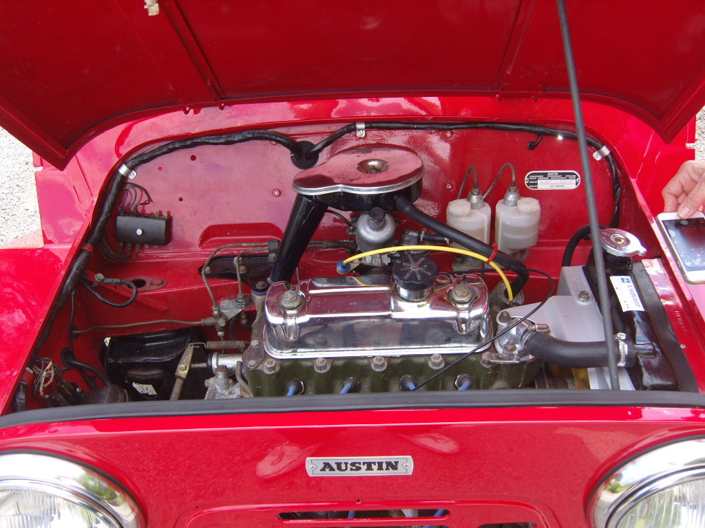 Austin Moke 1966 LHD  France with all her numbers. For Sale (picture 3 of 6)