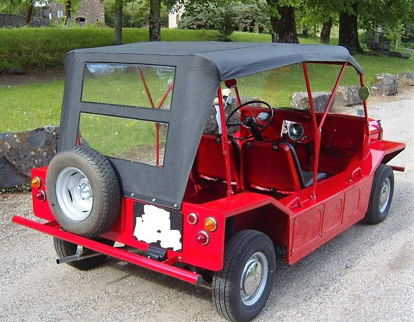 Austin Moke 1966 LHD  France with all her numbers. For Sale (picture 5 of 6)