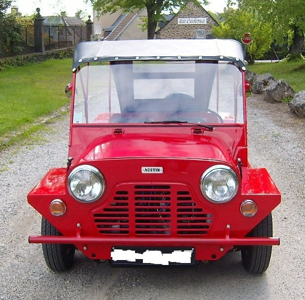Austin Moke 1966 LHD  France with all her numbers. For Sale (picture 6 of 6)