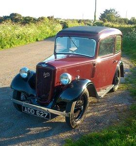 1935 AUSTIN 7 SEVEN MK 1 RUBY SALOON