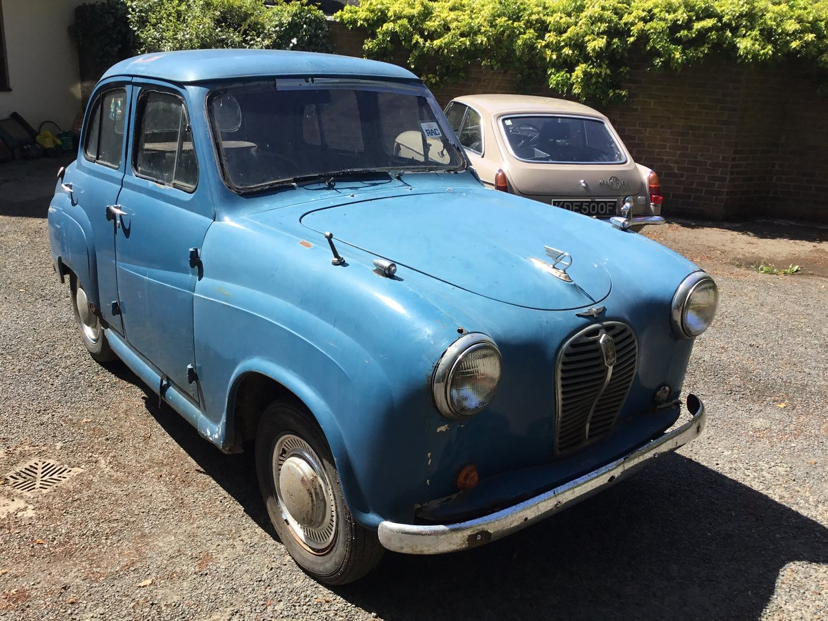 Rare Early Austin AS3 A30 4 Door Saloon 1953 resto For Sale (picture 3 of 6)