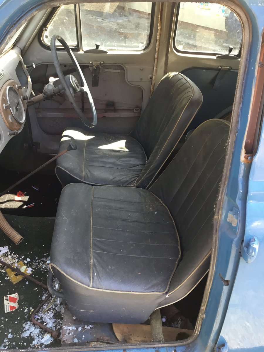 Rare Early Austin AS3 A30 4 Door Saloon 1953 resto For Sale (picture 5 of 6)