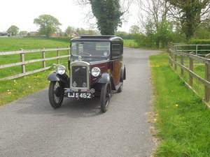 Austin 7 RP Box Saloon 1934 For Sale