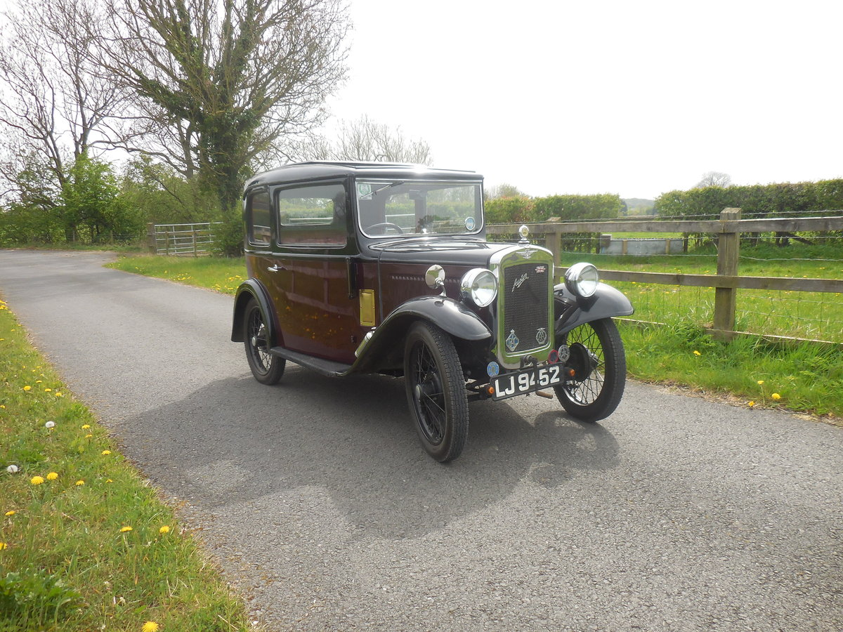 Austin 7 RP Box Saloon 1934 For Sale (picture 6 of 6)