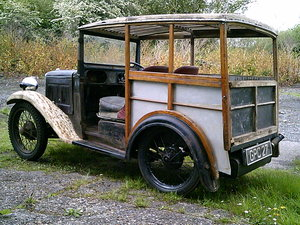 1937 Rare austin 7 van SOLD